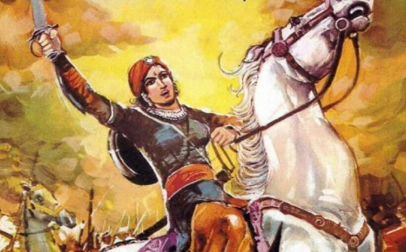 Naiki Devi the warrior queen of Gujrat who defeated Ghori