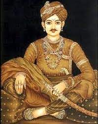 Battle of Jalore. Image of Viramdev Chauhan. He was the son of Kahnardev Chauhan